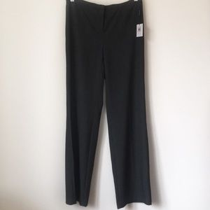 NWT Calvin Klein Charcoal Pleated Dress Pants